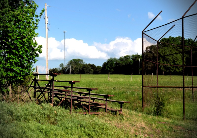 Baseball field at Roscoe, MO