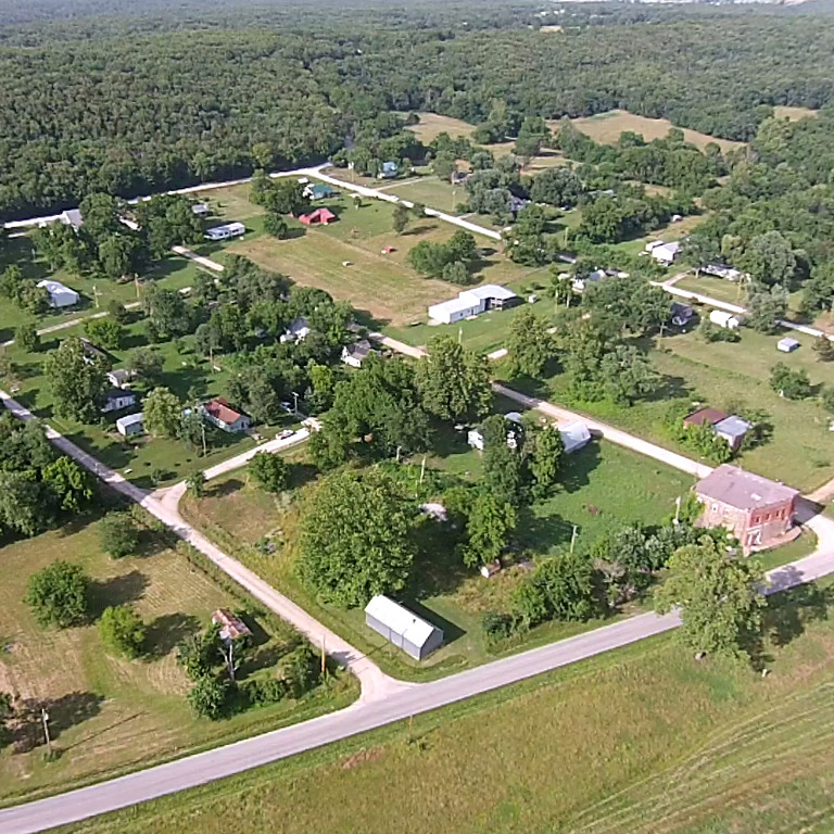 Aerial View of Gerster, MO