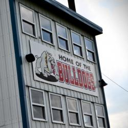 Appleton City Bulldogs press box