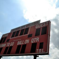 Appleton City Bulldongs score board
