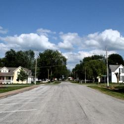 Downtown Lowry City, MO