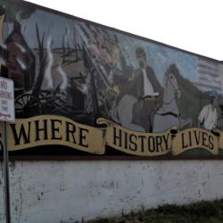 Mural at Downtown Osceola