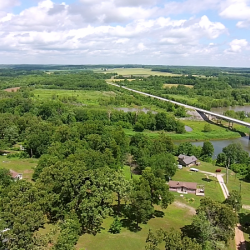 Aerial View of Roscoe, MO